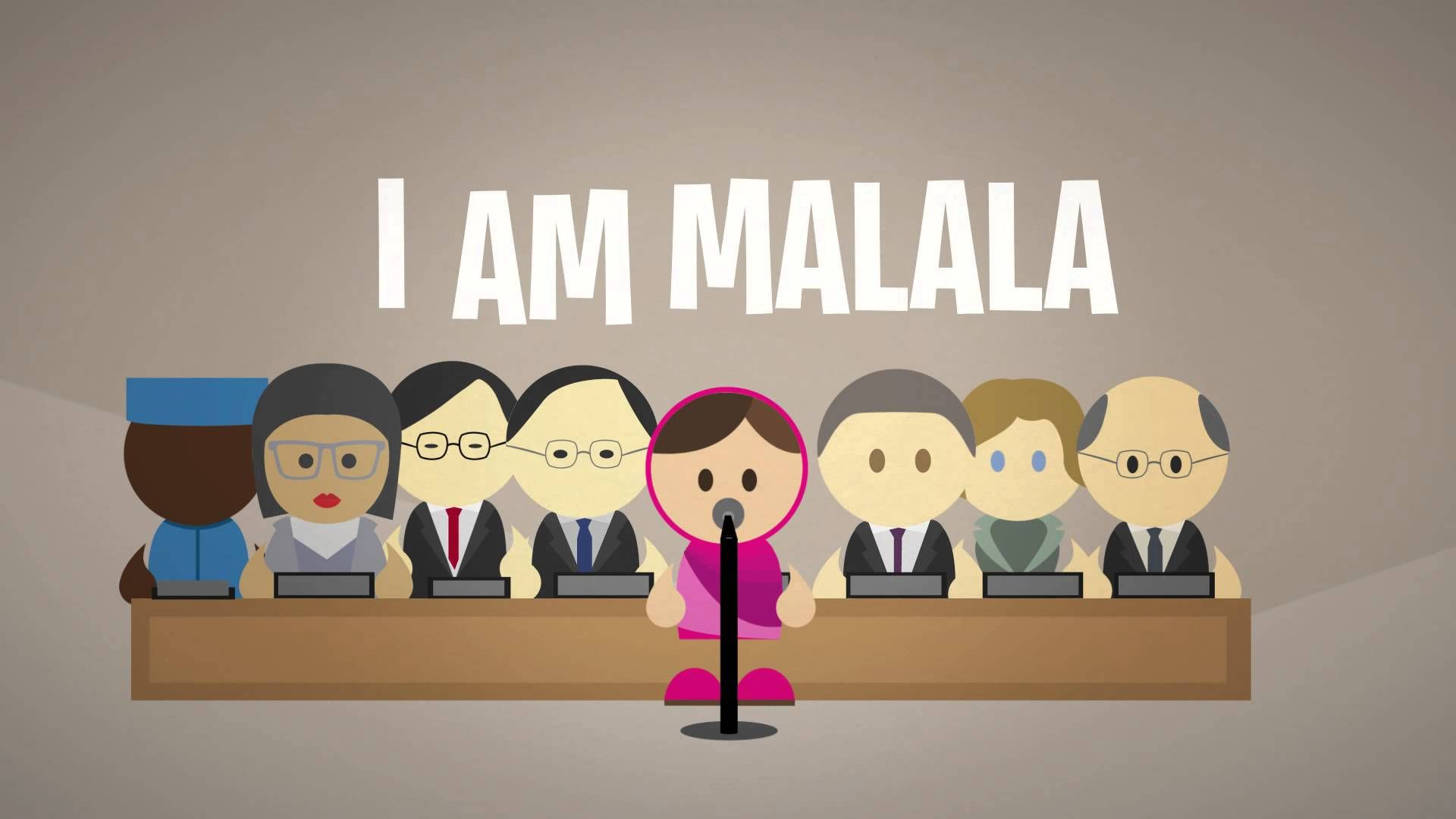 I Am Malala Un Speech Video Animation Dia De La Paz Clase