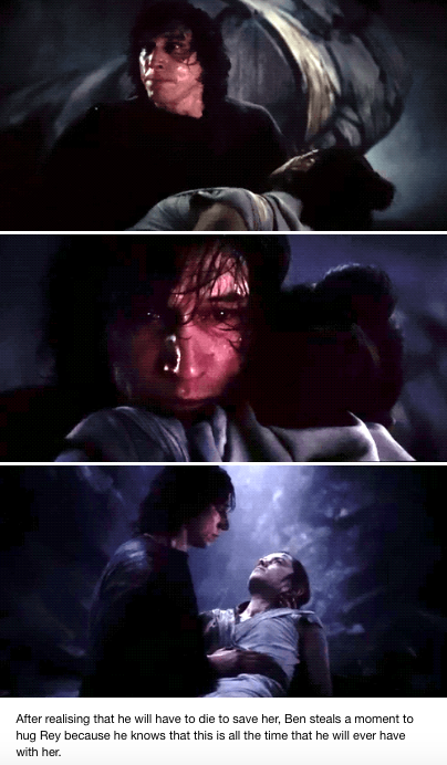 This made me fucking cry #reylo #fictionalcharacters This made me fucking cry #reylo