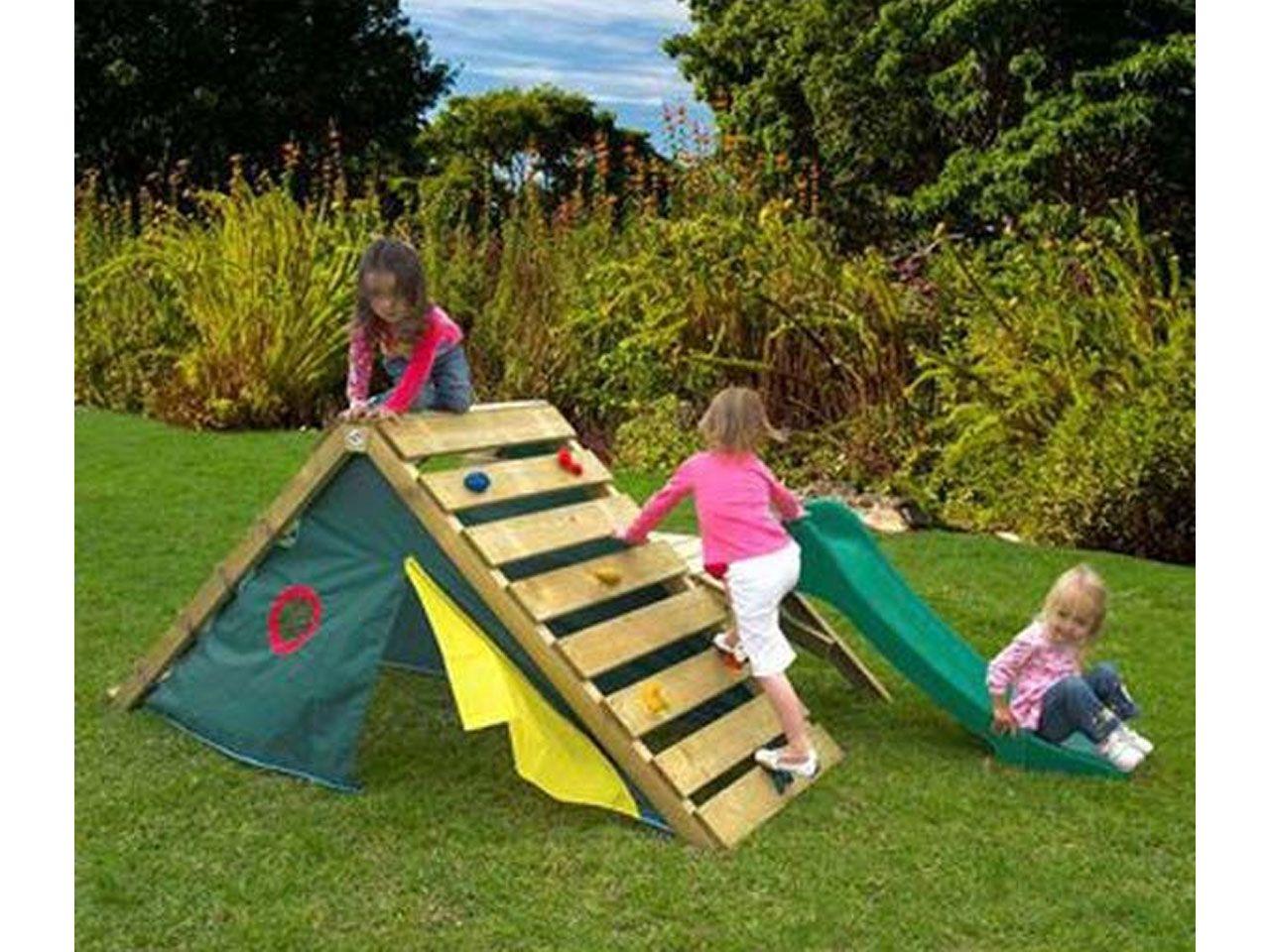 Las casas de palets para ni os m s divertidas palets for Casa infantil jardin