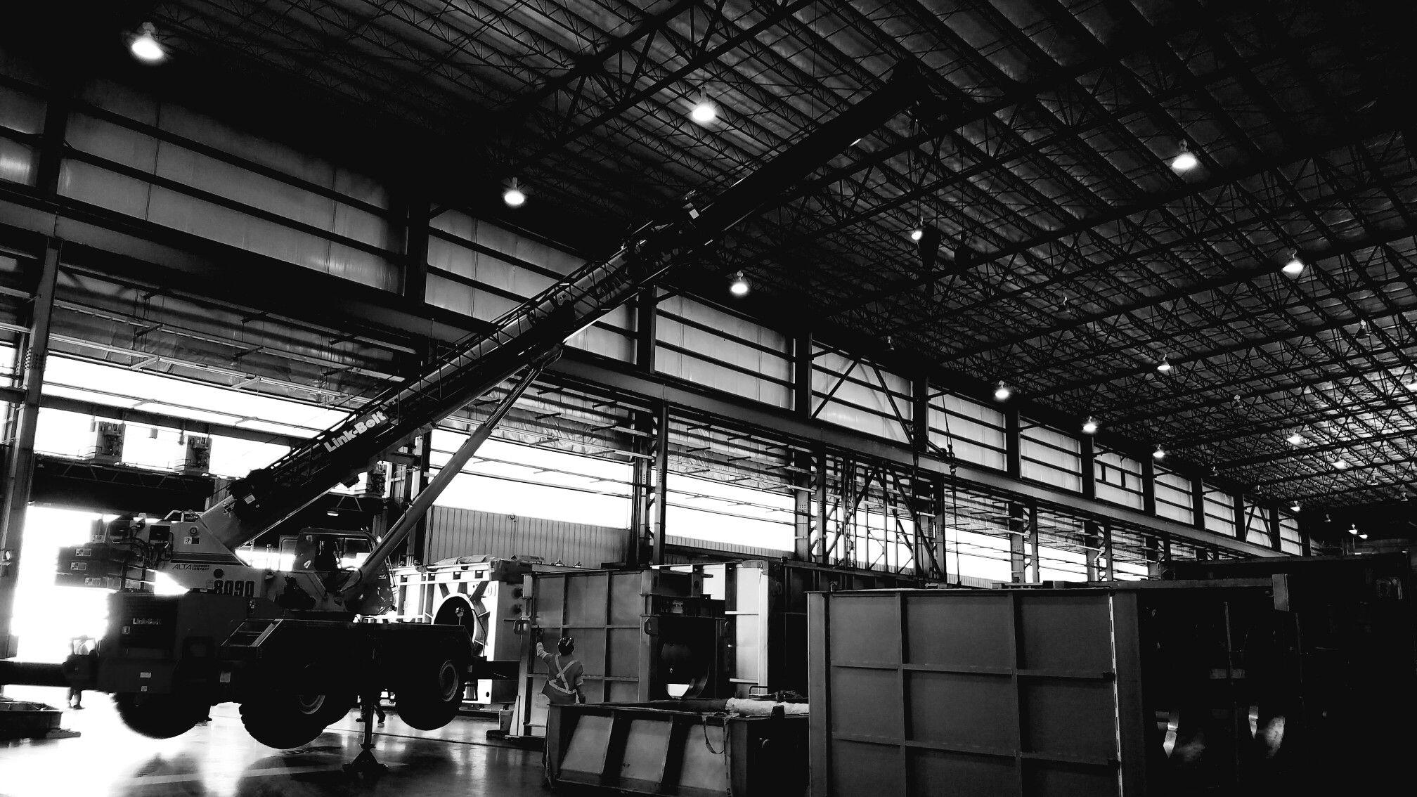 Steel mill upgrade 8090 crane
