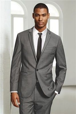 light grey suit | Dreaming... | Pinterest | Wedding and Weddings