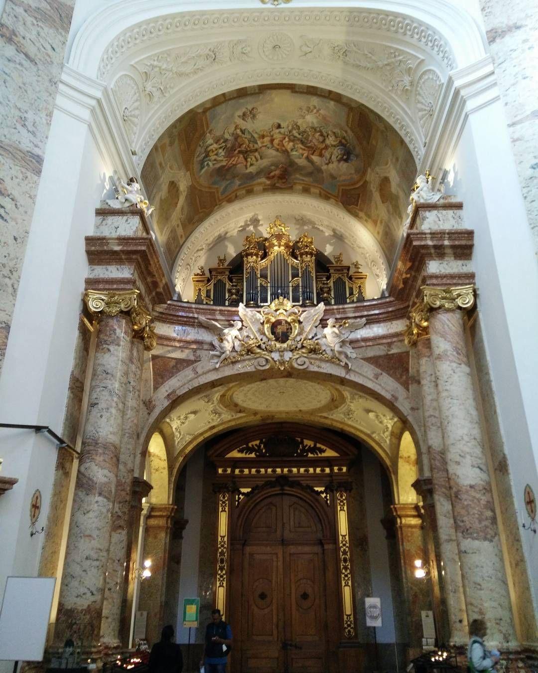inside the st charles church in vienna an absolute must see 2europeans austria vienna wien europe church views nature naturephotography - Must See Wien