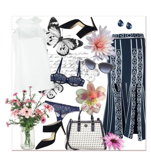 """Going to Work"" by freshstart60 ❤ liked on Polyvore featuring Peter Pilotto, Giorgio Armani, Chantelle, Boden, Tory Burch, Sabbadini, Miu Miu and office"