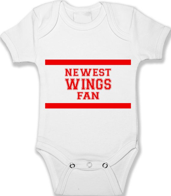 My Daddy and I are Detroit fans baby bodysuit Red Wings infant one piece