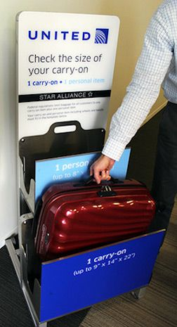 United S Strict New Carry On Baggage Rules Go Into Effect Carry On Luggage Rules United Airlines Carry On Carry On