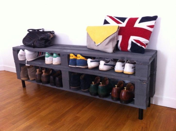 New Le Brillant Avec Superbe Meuble Chaussure Palette dans Auxerre