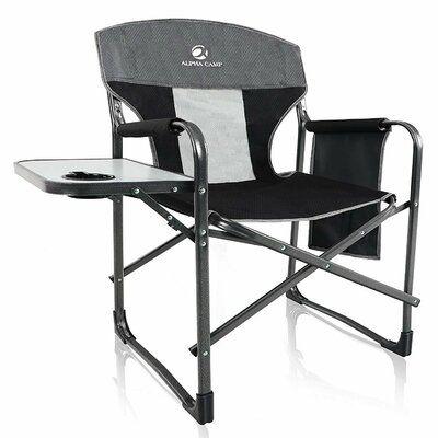 Alpha Camp Alpha Camp Folding Director Chair In 2020 High Back Chairs Chair Folding Beach Chair