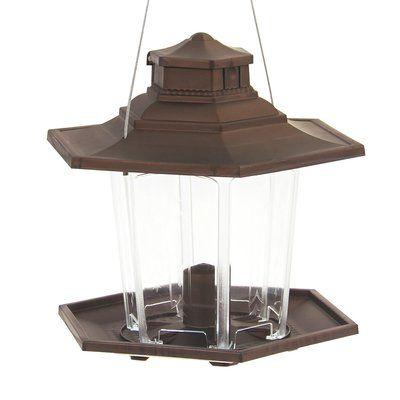 Classic Brands LLC Surefill Plastic Lantern Hopper Bird Feeder