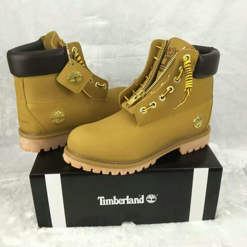 168a0cd1773 New Timberland Boots For Men 6 inch zip gold skeleton icon - wheat ...