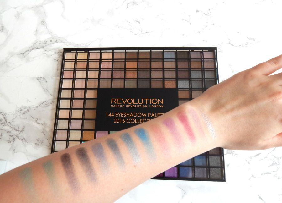 144 Eyeshadow Palette 2016 Collection from Makeup Revolution