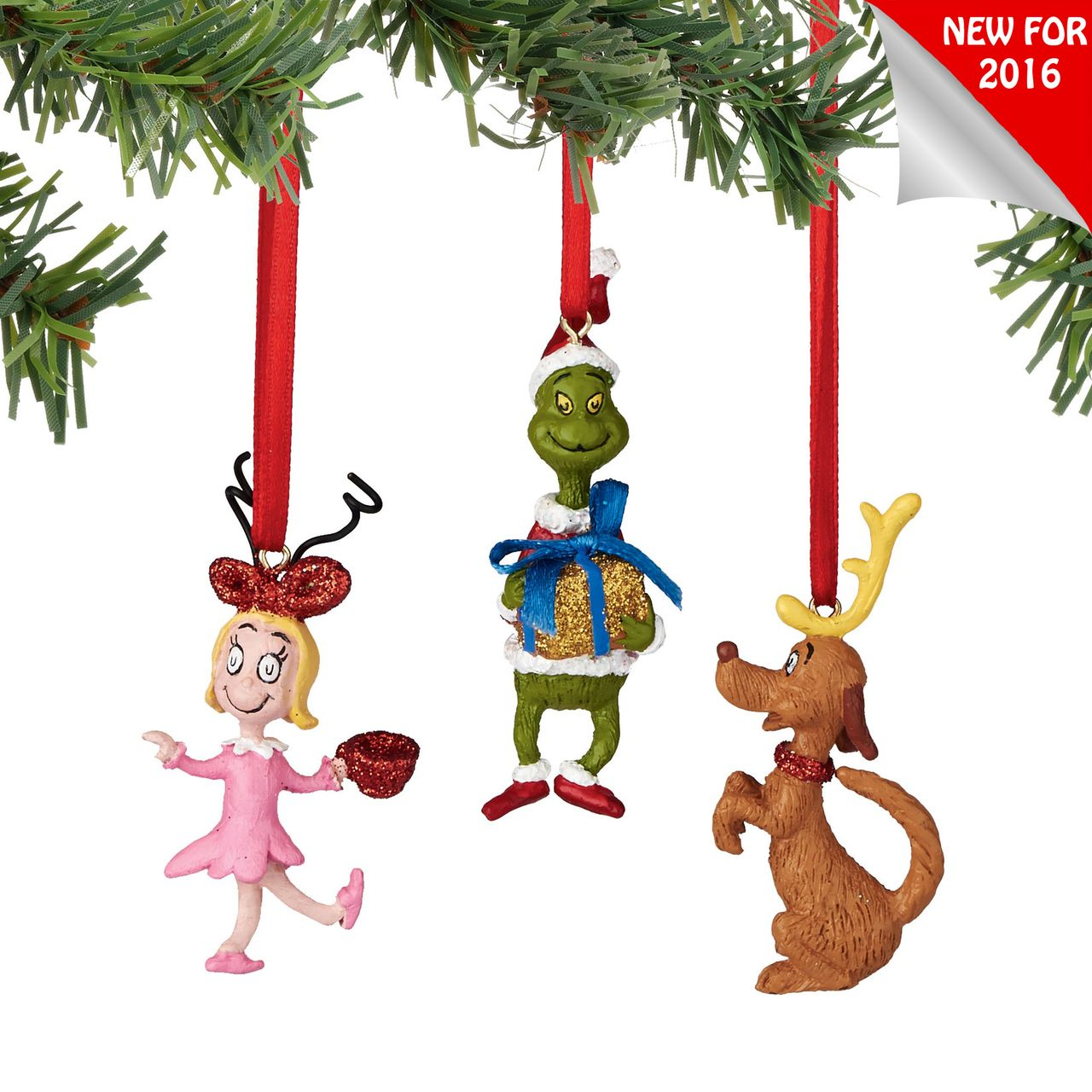 Department 56 Grinch Mini Ornaments 2 In | Grinch, Department 56 and ...