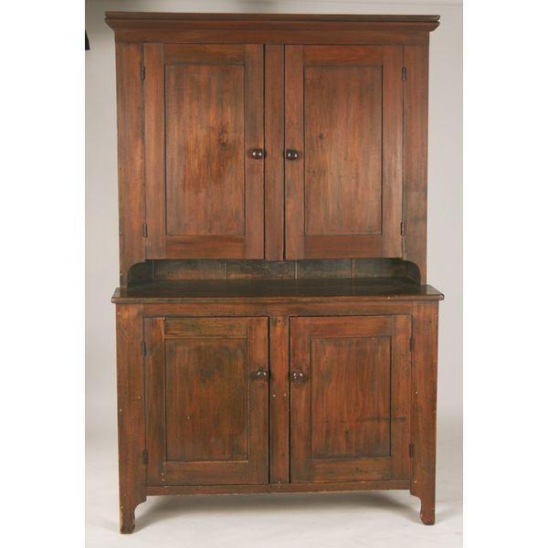 Stepback Cupboard Antique - Stepback Cupboard Antique Antique Furniture - Stepback  Cupboard Antique Antique Furniture - - Stepback Cupboard Antique Antique Furniture