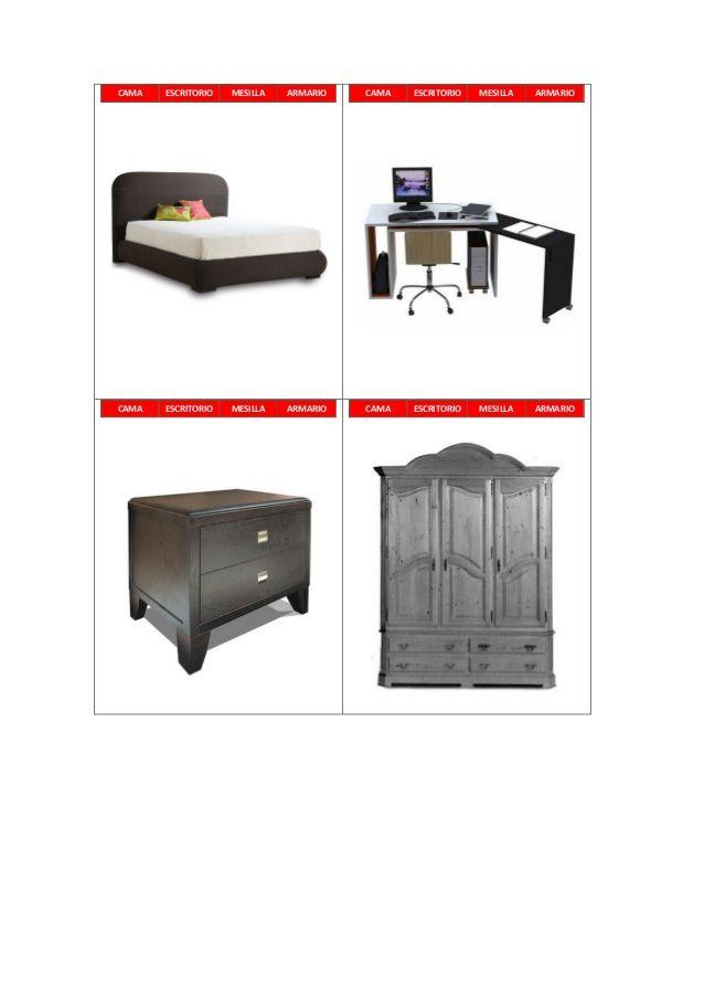 La baraja de los muebles | Juegos | Pinterest | Iniciales y Juego