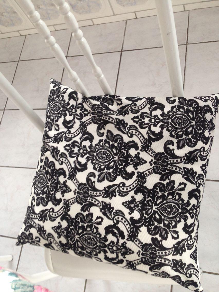 Almofada diy decoração tecido gorgurinho
