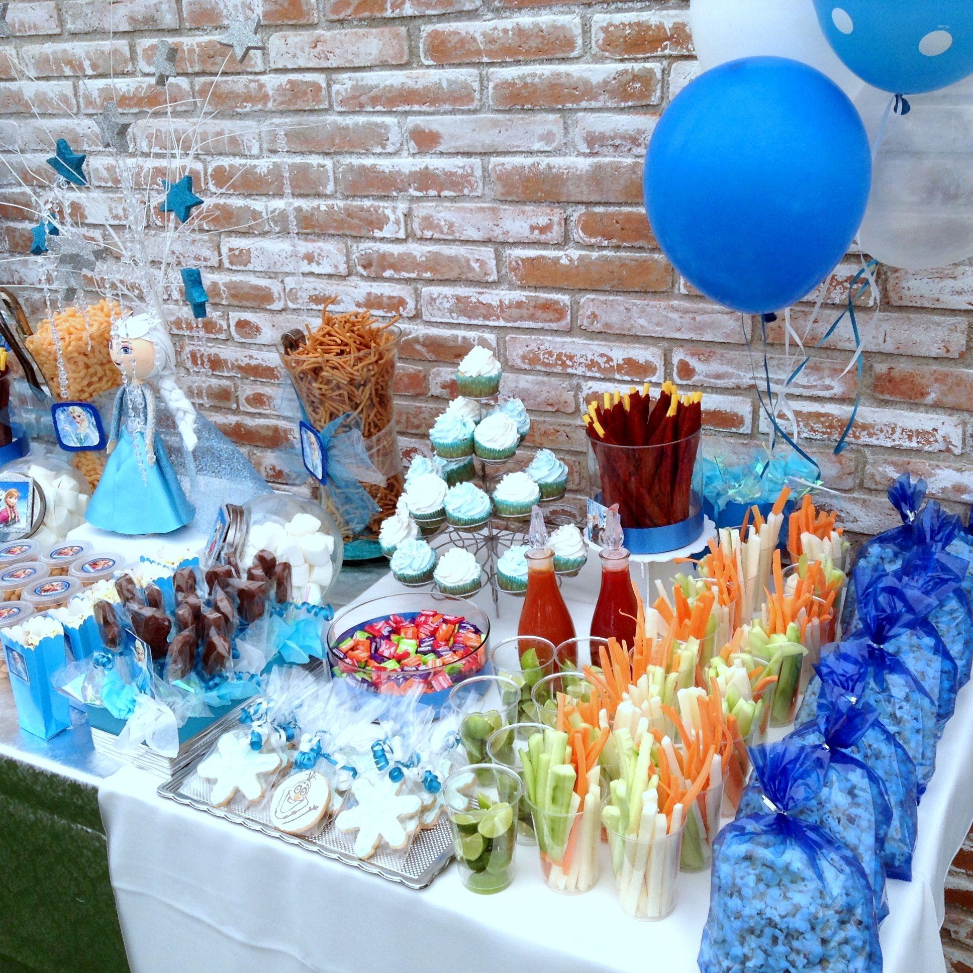 Fiesta frozen santafe salon de eventos juriquilla qro - Mesas para cumpleanos infantiles ...