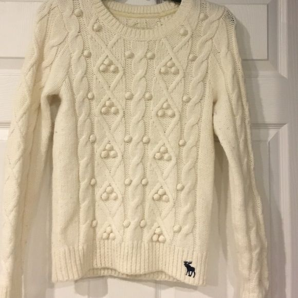 Abercrombie Cable Knit Sweater Gently worn Abercrombie And Fitch ...