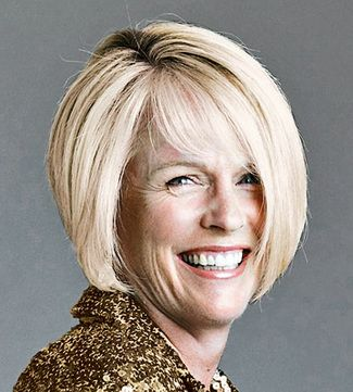 Soft Graduated Bob Is Another Elegant Hairstyle For Over 50 Women With A Slight Twist