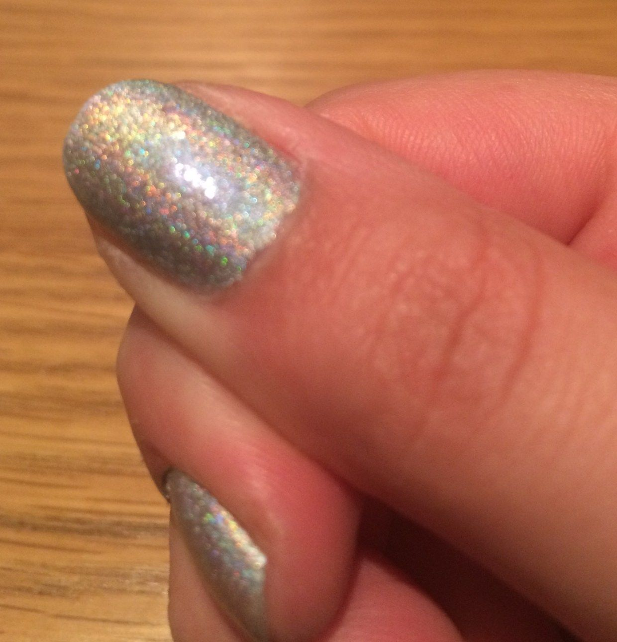 Wah London The Trillest Holographic Effect Swatch Review
