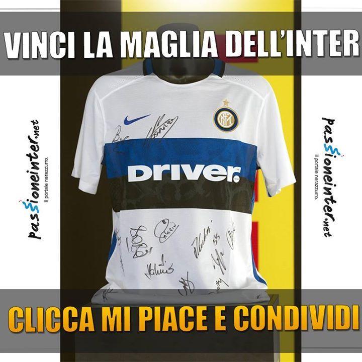 Contest Passione Inter - Vinci La Maglietta Dell'Inter https://www.facebook.com/passioneinter.net/photos/a.404967859536258.15955023.156077804425266/1044798438886527/?type=1&theater