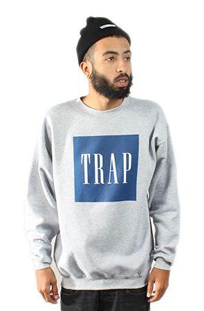 New Jack City Trap Crewneck | Pretty Rad Clothing | New ...
