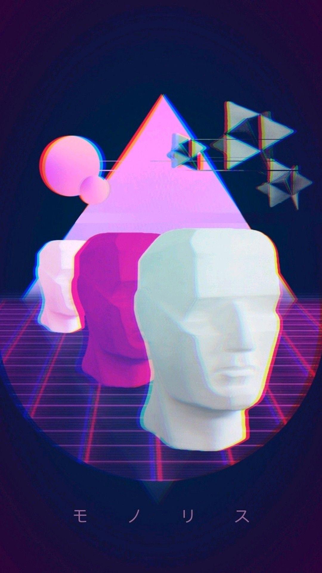 Pin by kalminrot on ART Vaporwave wallpaper, Vaporwave
