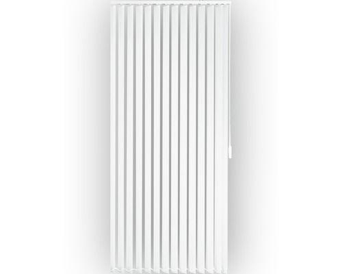 Lamellenvorhang Komplettset Weiss 100x180 Cm Rideau A Lamelle Rideaux Blanc
