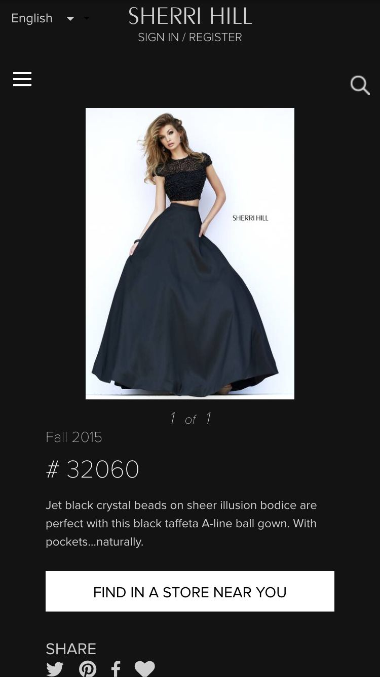 Sherri hill bridesmaids dress bridal party pinterest bridal