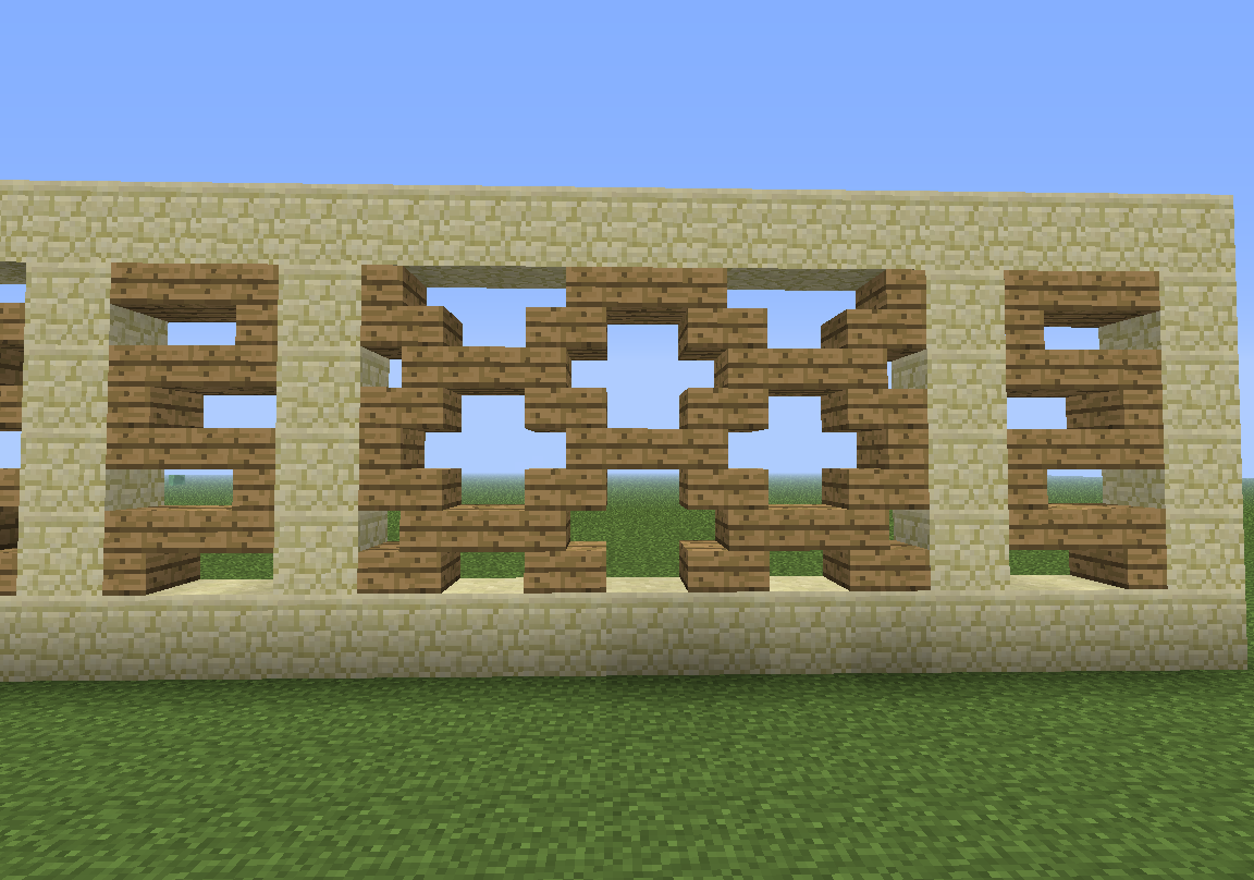 Wall Decorations Minecraft : The most awesome images on internet modern fence
