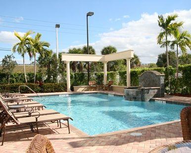 Hampton Inn West Palm Beach Lake Worth Turnpike Hotel Fl Outdoor Pool