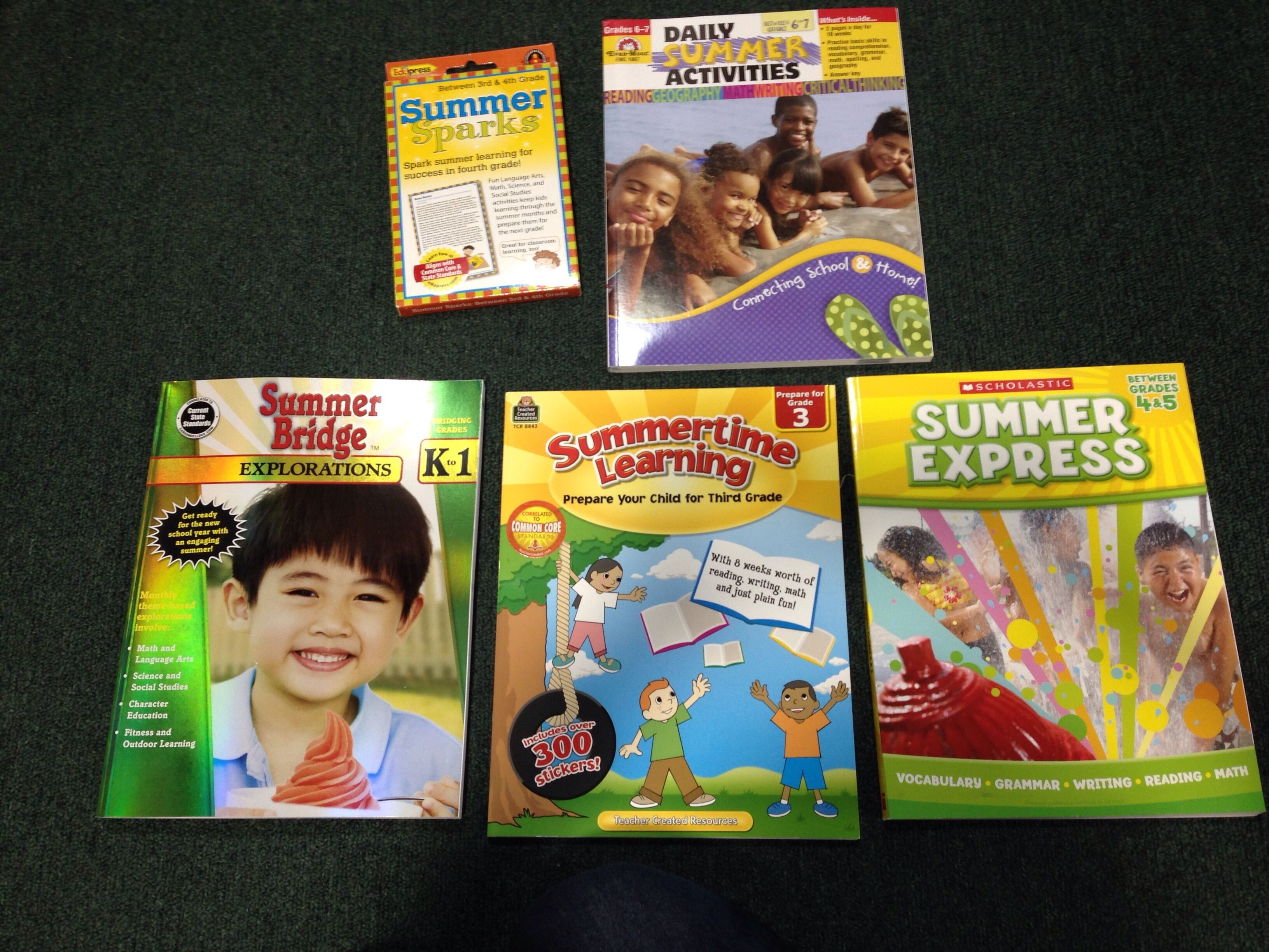 Prepare Your Child For The Next Grade Level With Some Of