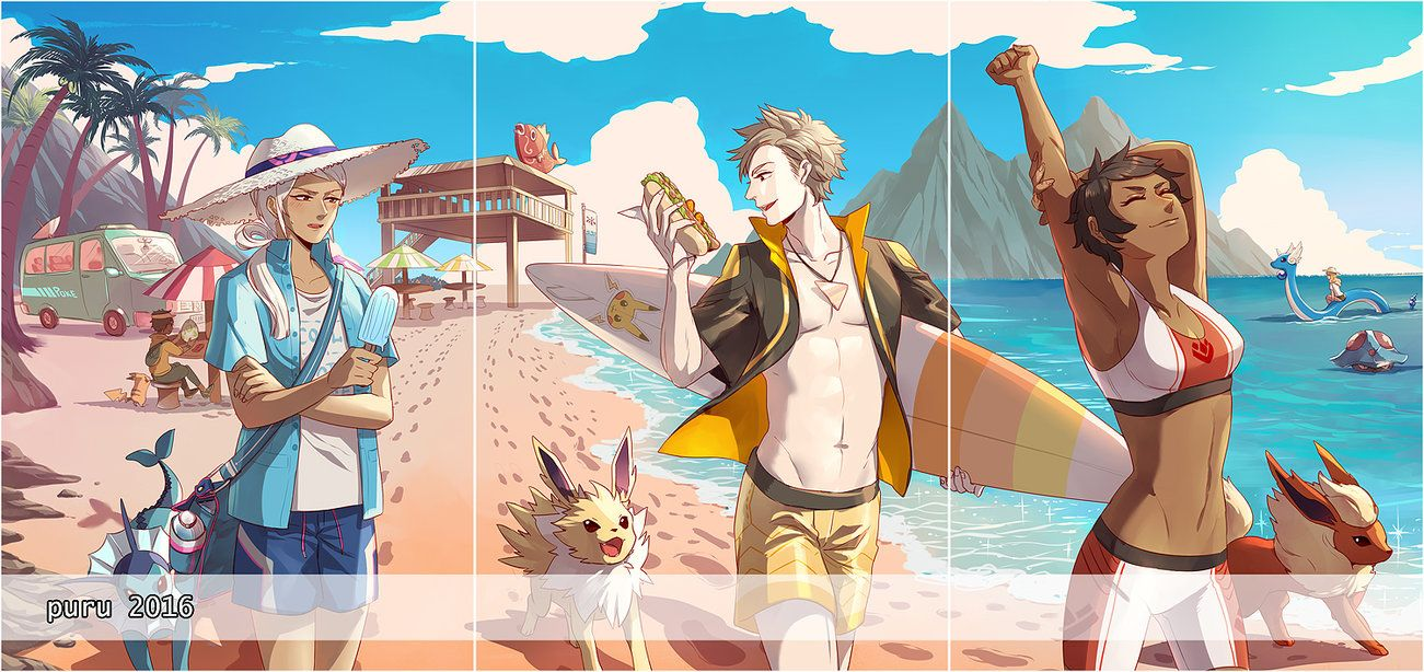 83689eb1f1 Leaders and beach by pluehunter.deviantart.com on @DeviantArt ...