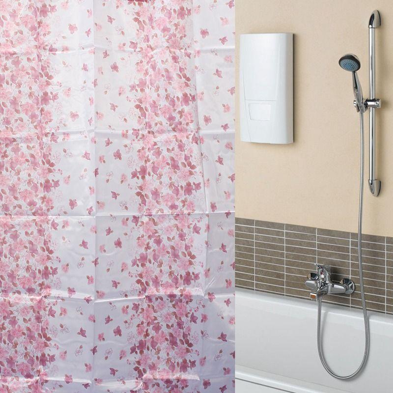 Best Promotion Fashion New Red Little Flowers Waterproof Bathroom ...
