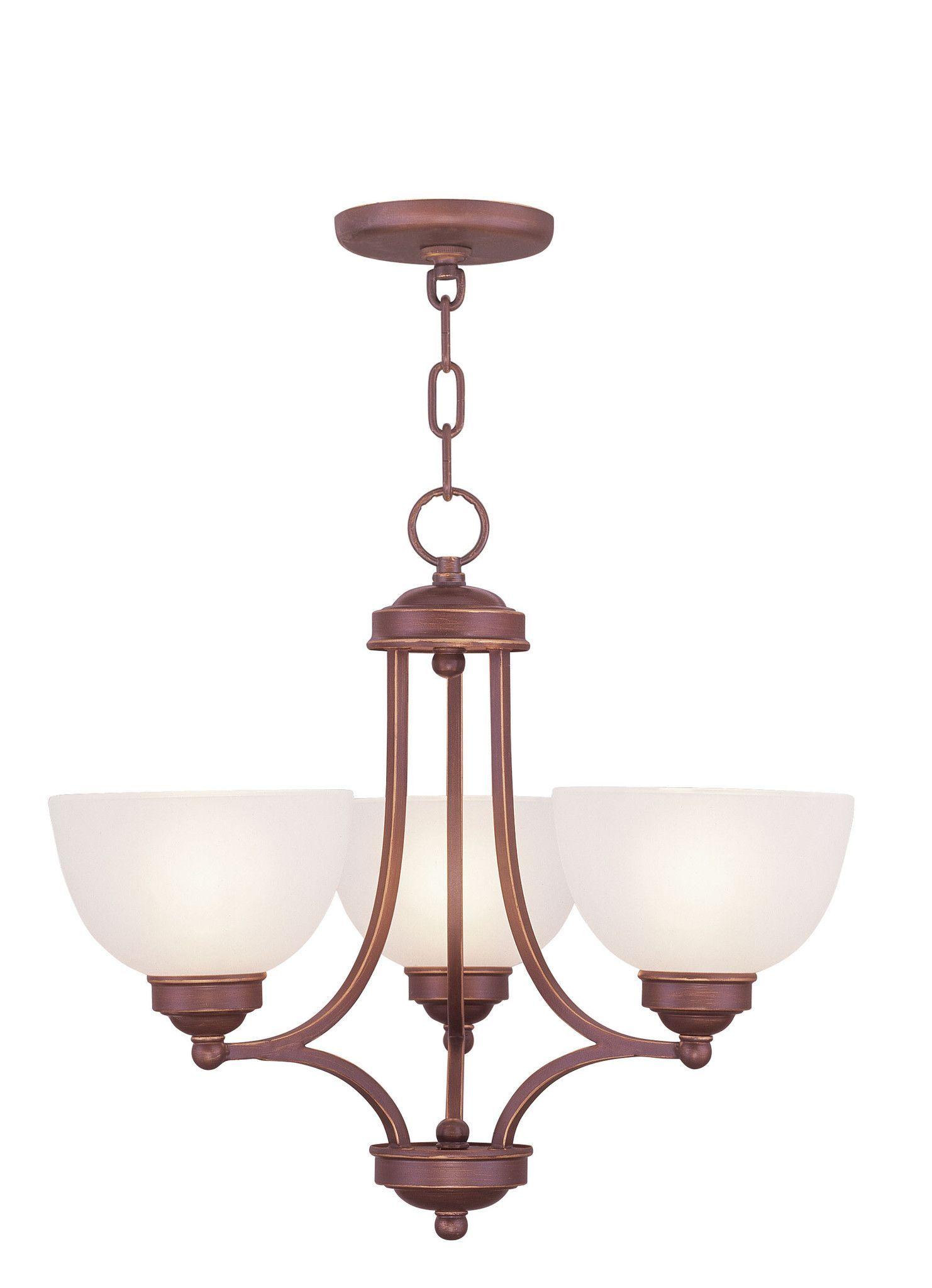 Livex Lighting Somerset Vintage Bronze Chandelier 4213 70