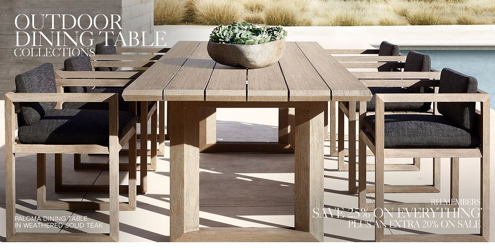 Restoration Hardware Coffee Table Round Download Shop Outdoo In 2020 Outdoor Dining Outdoor Furniture Sets Teak Outdoor Furniture
