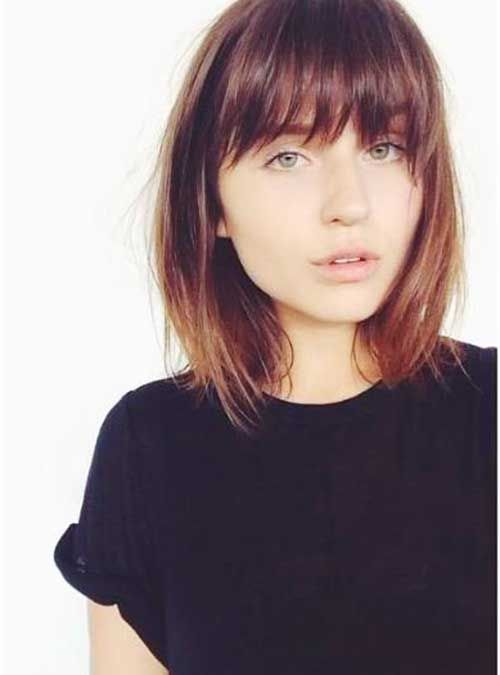Bob Haircut And Hairstyle Ideas Bob Hairstyles With Bangs Short Hair With Bangs Hairstyles With Bangs