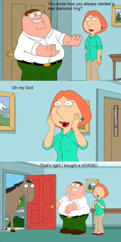 Family Guy Horse : family, horse, Giggles