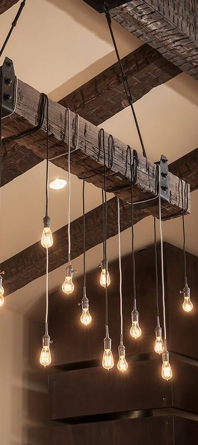 Hanging Edison Lights