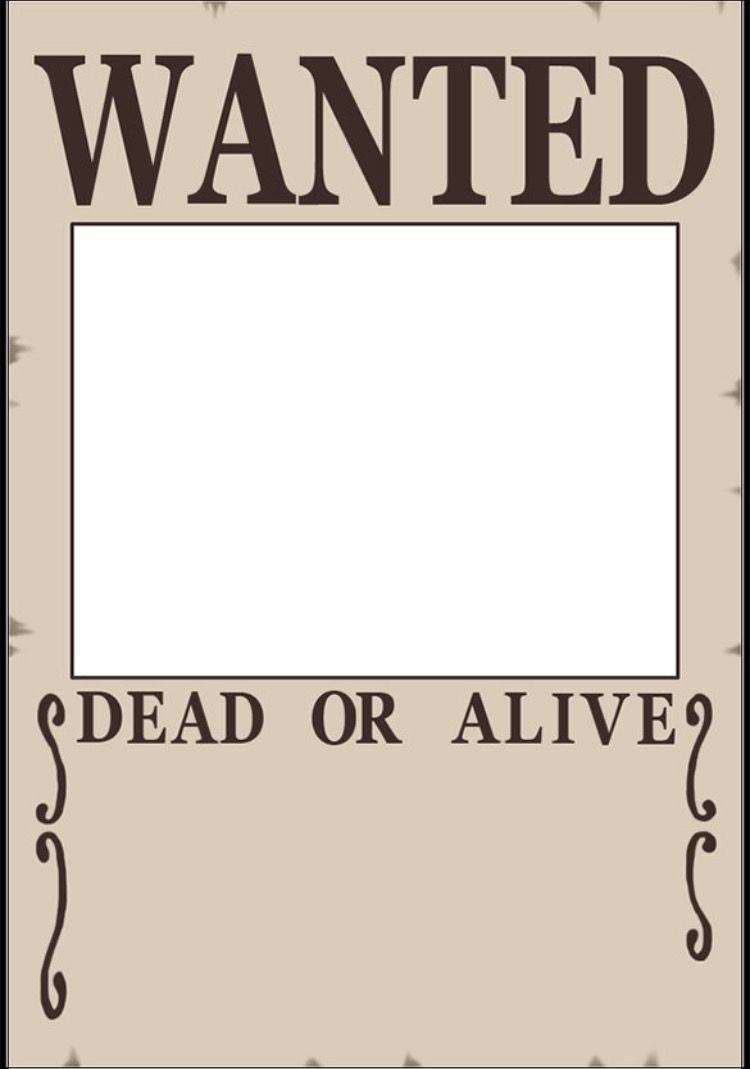 Blank Wanted Poster Templates Printable Free Poster Template