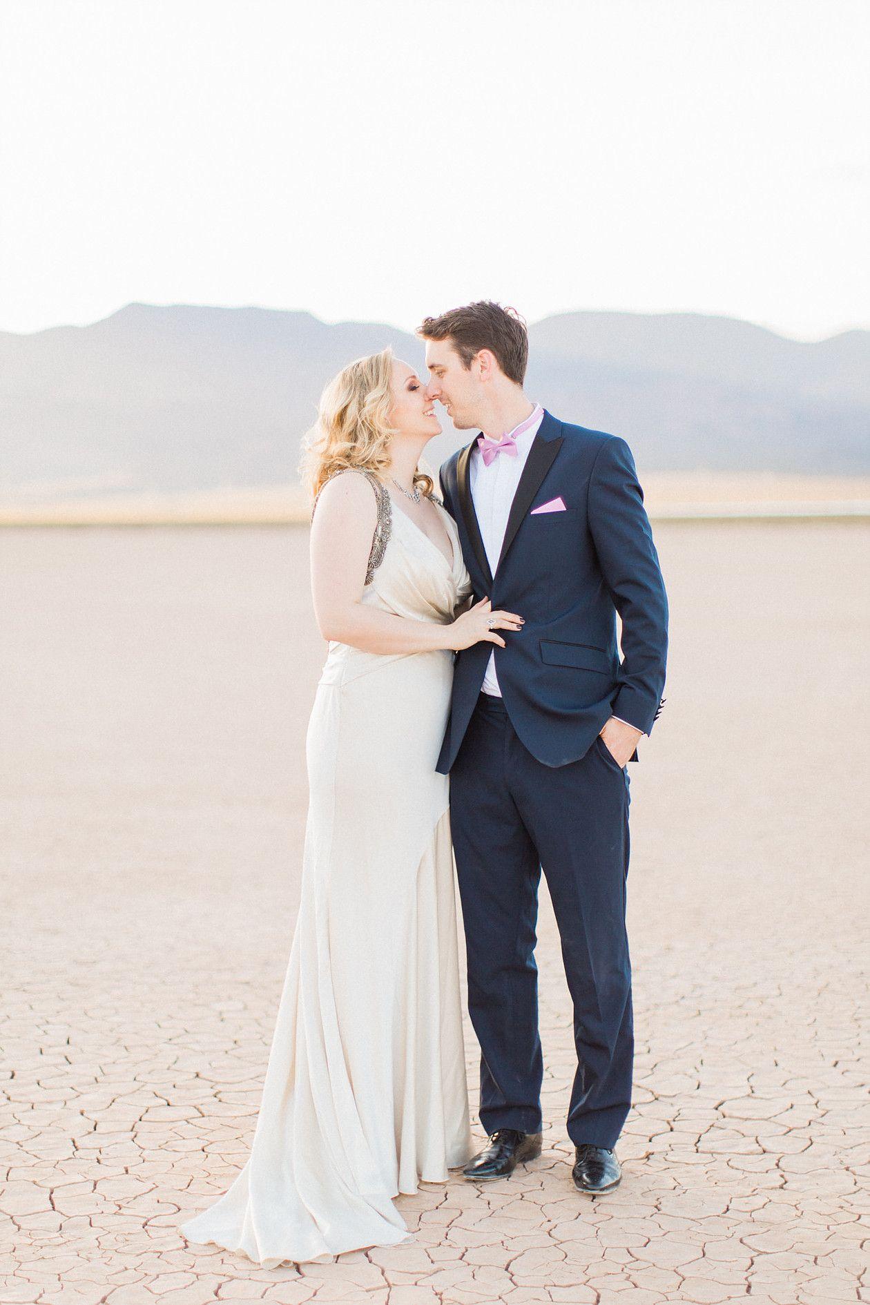 Dry Lakebed Wedding Elopement Las Vegas