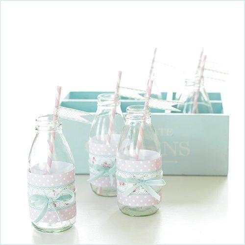 Decorar botellas de cristal para fiesta infantil menudos - Decorar botellas de cristal ...