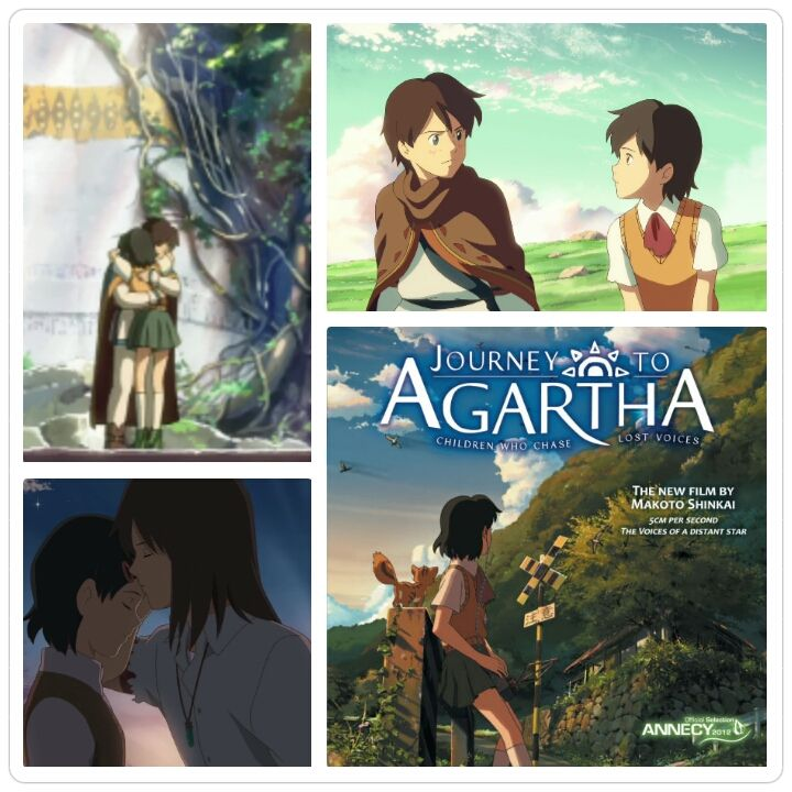 Journey to Agartha or Children Who Chase Lost Voices | anime | Lost