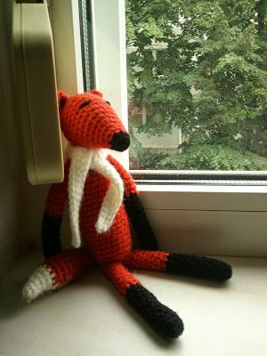 Amigurumi Fox free pattern by Timic\'s Home | haken | Pinterest