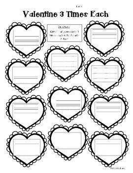 Valentine Word Work Activity Pack! 5 Word Work Activities