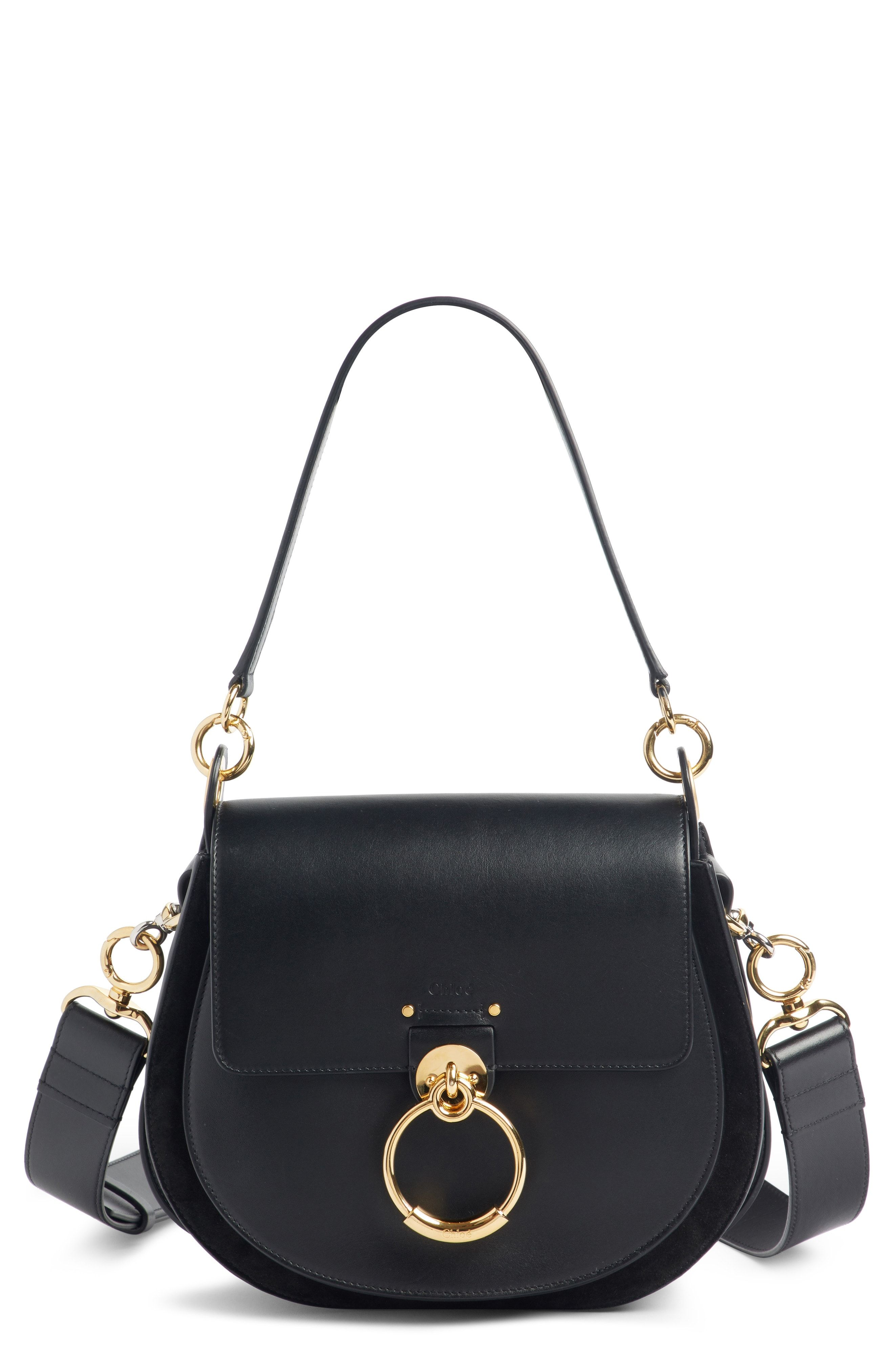 971a499fc7 Chloé Medium Tess Calfskin Leather Shoulder Bag available at #Nordstrom