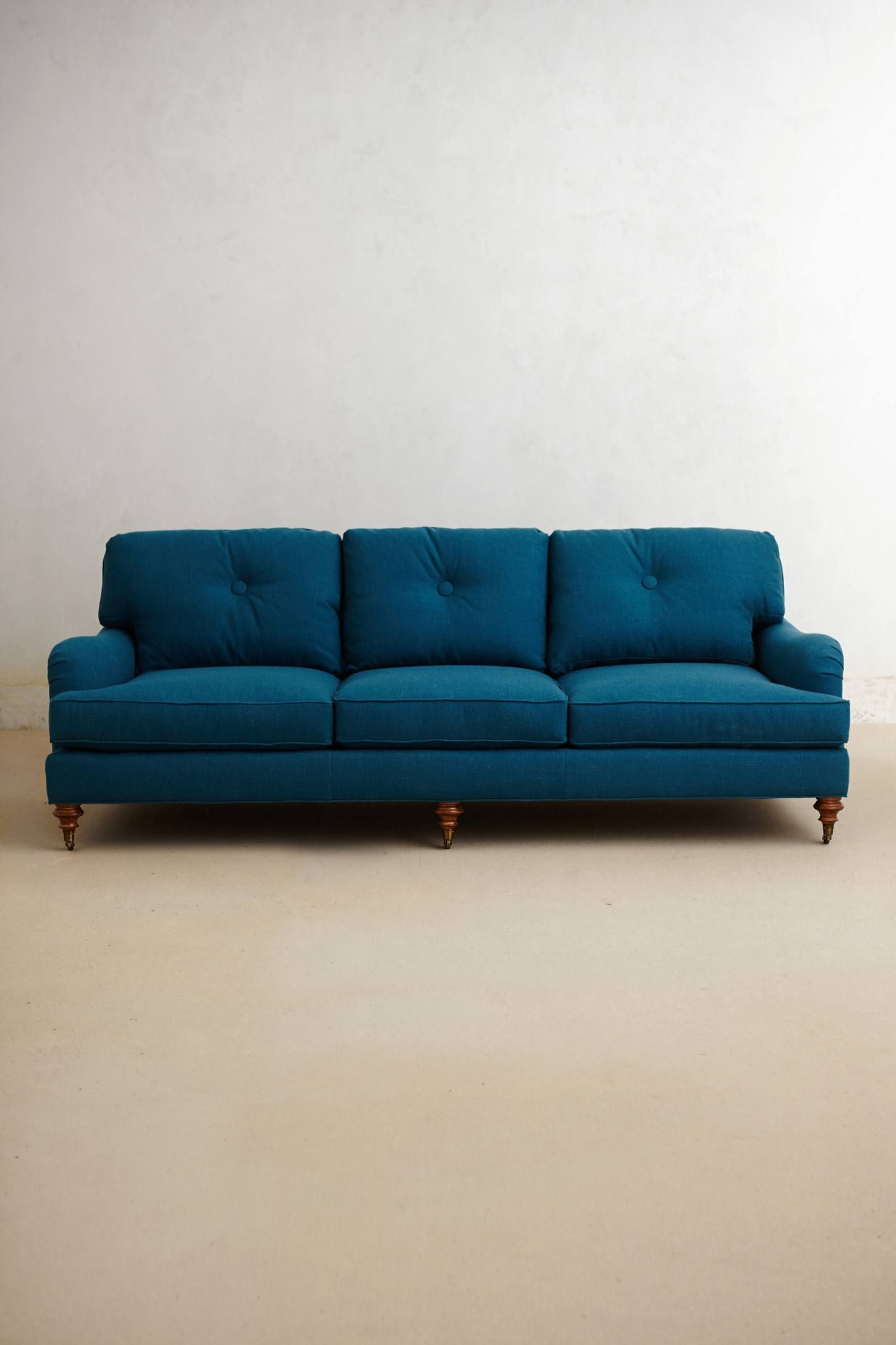 anthropologie sofa small apartment sofas nyc winifred living rooms and room