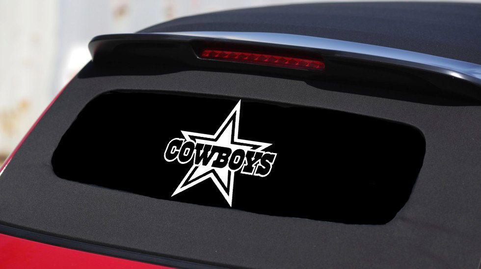 Dallas Cowboys Car Decal Stickers