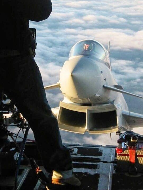 Royal air force Typhoon  Photographer: