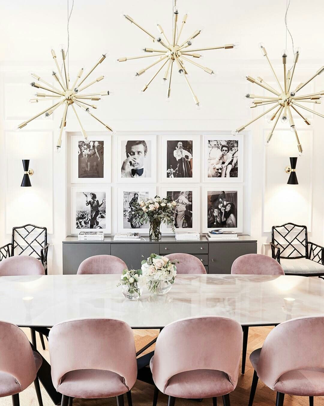 We Present You Our Favorite Dining Room Lighting Ideas Pink