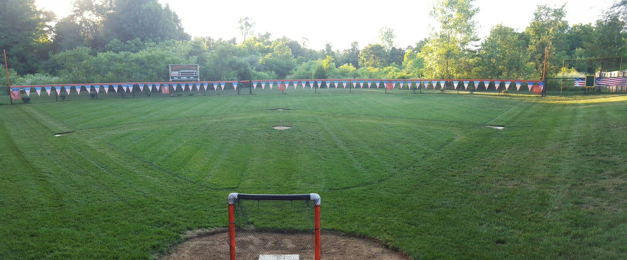 Wiffle ball field | Backyard baseball, Wiffle ball, Wiffle