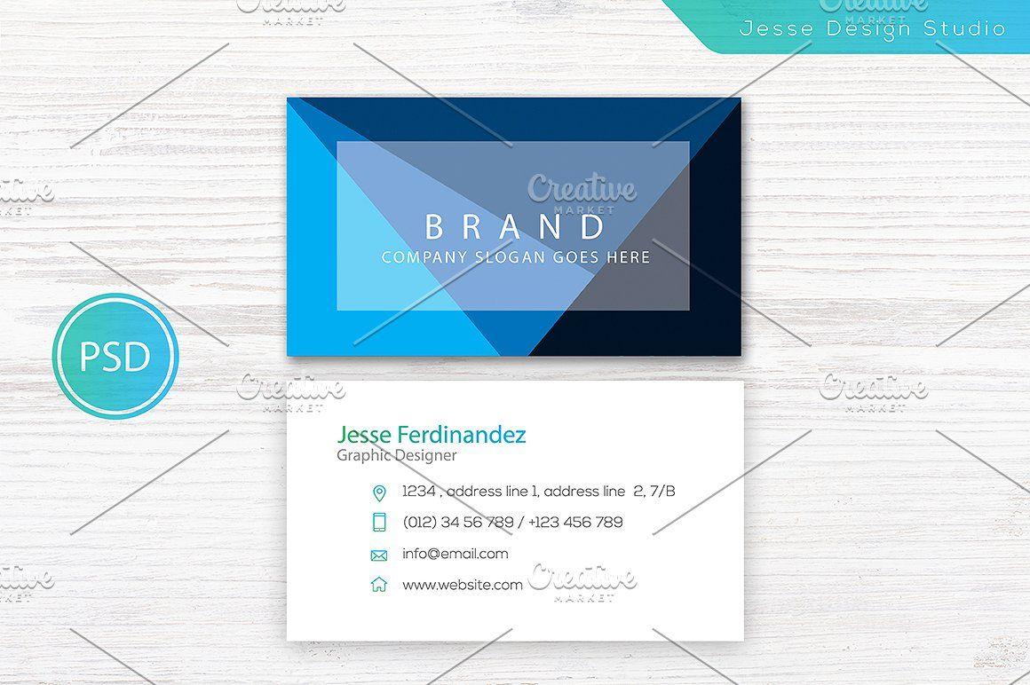 unique business card templates   นามบัตร